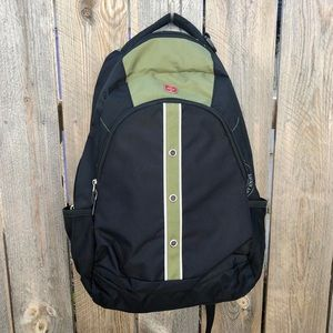 Swiss Gear   Wenger backpack green and black